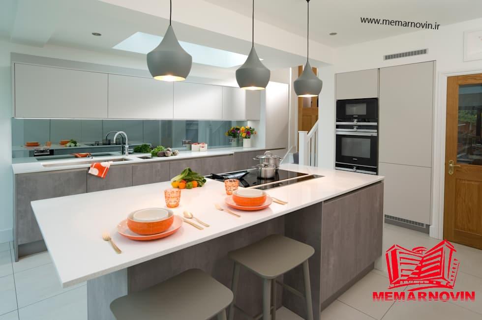 آشپزخانه بدون دستگیره1