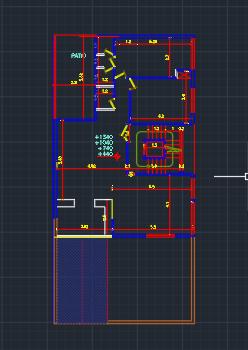 پلان پروژه متره و برآورد ساختمان مسکونی